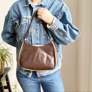 💛 Rudsak Collection Brown Leather Shoulder Bag